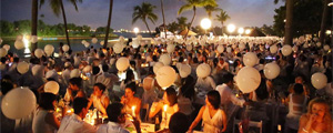 Official Sponsor for Diner En blanc