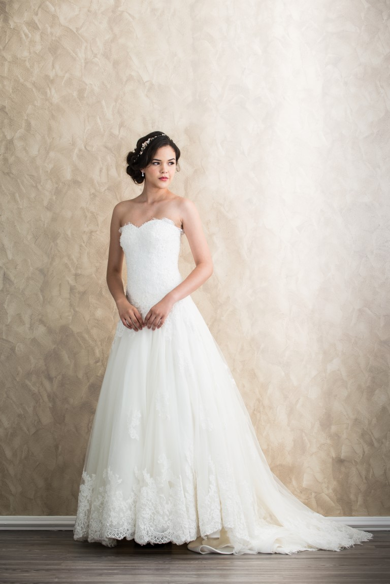 Sweetheart Tulle Princess Dress With Lace Appliqués